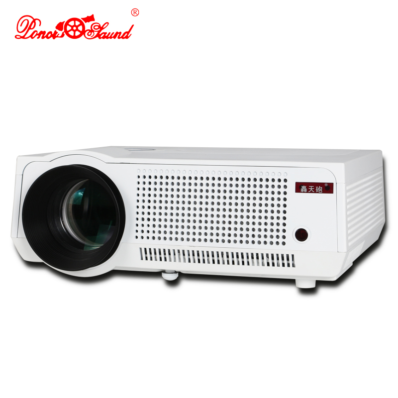 Poner Saund Full Hd New Mini Projector Proyector Led Lcd: Poner Saund Full HD Projector Projecteur LED LCD 3D