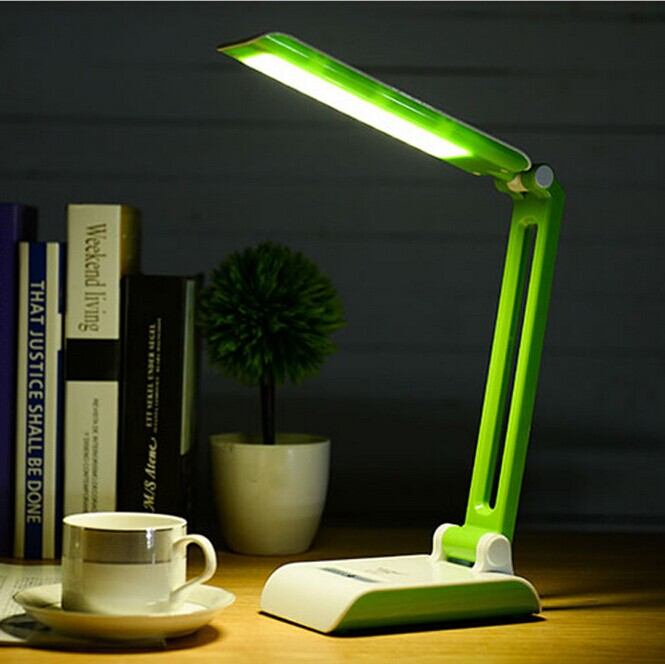 ФОТО Modern Foldable and Adjustable Desk Lamps Rechargeable led Table Lamp With 33LED For Bedroom white light Reading Charge lamp