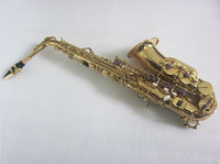 Brand new Alto Saxophone Made in China High quality Sax instruments Golden All the accessories are complete Free shipment