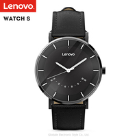 Lenovo Watch S Smartwatch 5ATM Waterproof Fashional Smart Quartz Watch Sleep Monitoring Sports Watch For Android IOS Woman Men