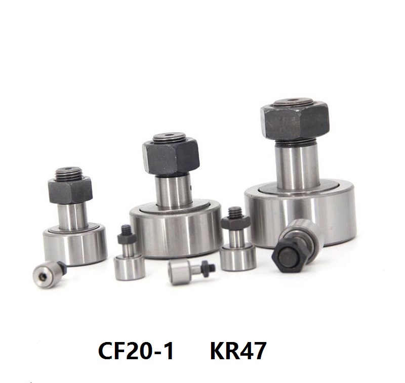 10pcs lot CF20 1 KR47 bearing CAM followers Track Rollers Stud type Needle Roller Bearing