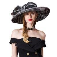 Summer Hat 2019 For Women Straw Large Wide Brim Sun Visor Ladies Floppy Beach Hats Fedora Hoeden Voor Vrouwen Zomer