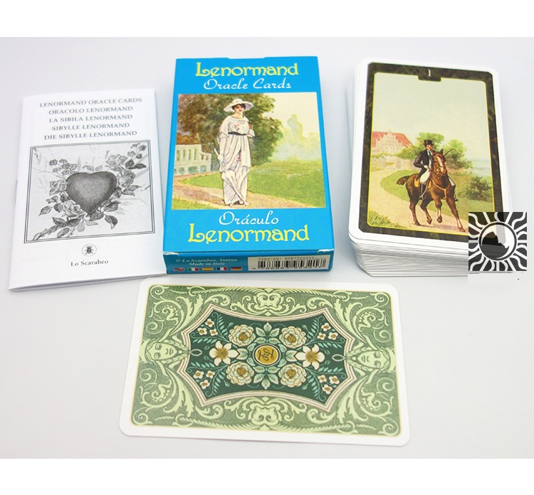 36pcs Lenormand Oracle Cards Board game card36pcs Lenormand Oracle Cards Board game card