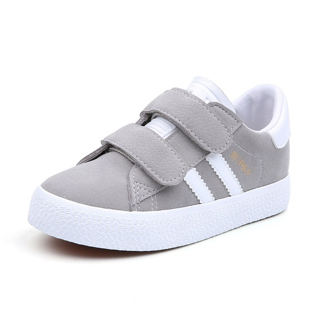 Toddler Boy Shoes Sneakers Kids Sports Shoes for Girl Flock Leather Casual Sneakers Shoes Boys Spring 2019 Children School Shoes