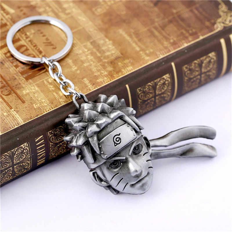 อะนิเมะ Naruto badge พวงกุญแจจี้ Kakashi Sasuke Sharingan แฟชั่นโลหะผสมคอสเพลย์ keyrings badge เด็กผู้ใหญ่ unisex