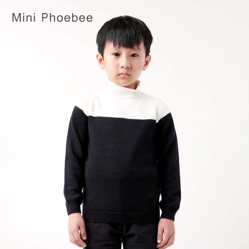 Aliexpress.com : Buy boys turtleneck sweater 60% wool 40% ...