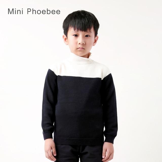 46f64fde98bc boys turtleneck sweater 60% wool 40% cotton boys jumper children ...