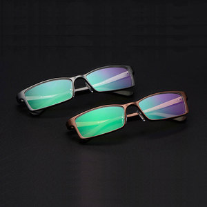 Image 2 - Reven Jate B2037 Optische Brillen Frame Voor Mannen En Vrouwen Bril Prescription Rx Aluminium Frame Bril Volledige Velg