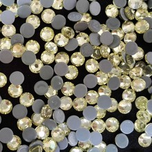 hot fix pedrier in size 4mm ss16 jonquil shiny crystal stone ;hot fix rhinestone in 6A quality for sports wearing decor