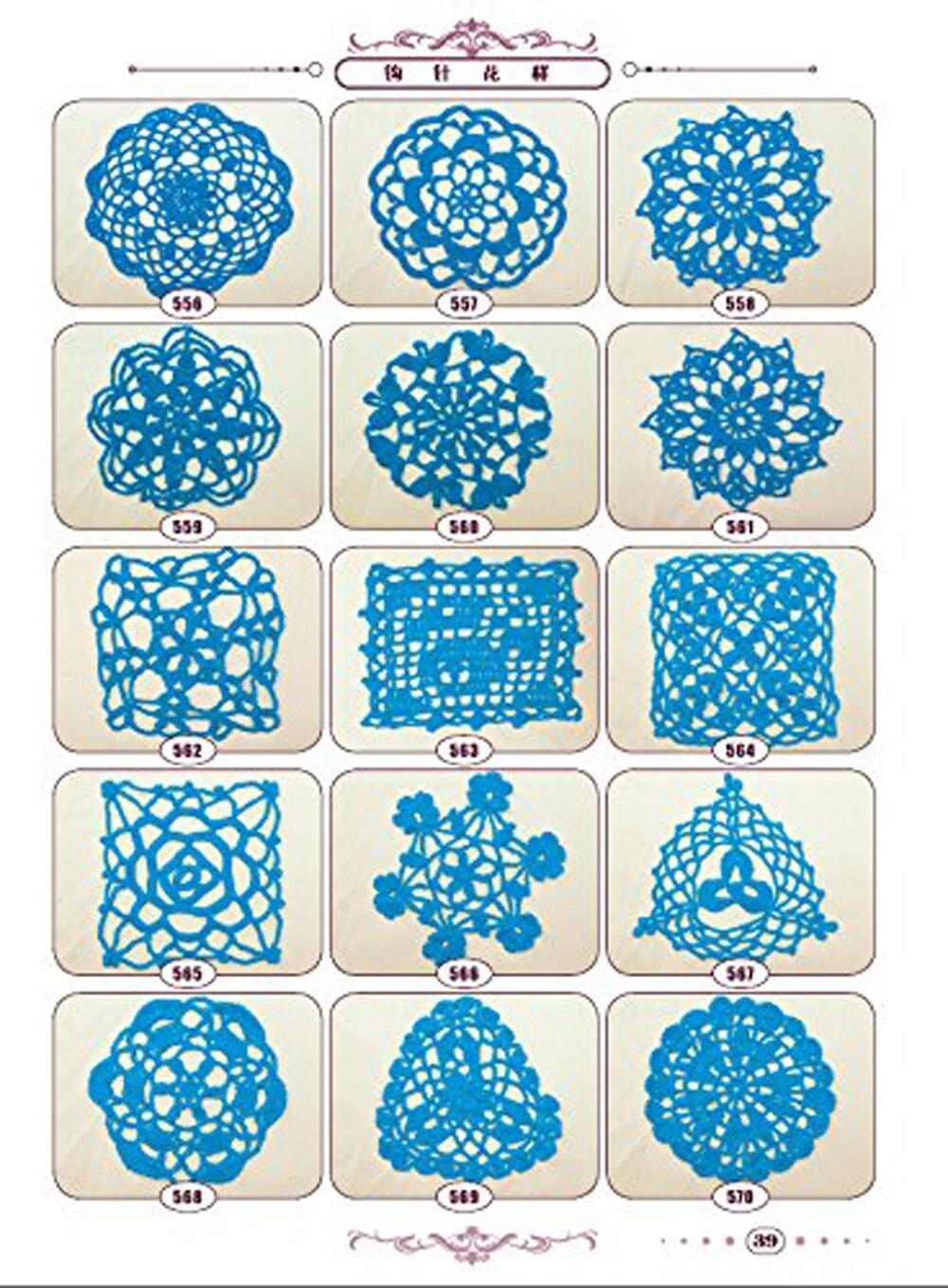 tricô padrão e padrão de crochet Camisola de malha livro tutorial