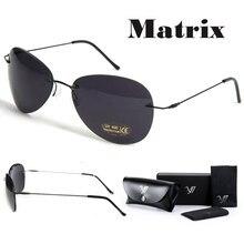 128eaaa527ca3 Filme Matrix Morpheus Óculos De Sol óculos de sol dos homens polarizados  Neo Clássico óculos Sem