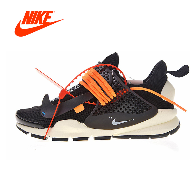 Original New Arrival Authentic Nike La Nike Sock Dart X Off-White Men's Running Shoes Outdoor Sneakers Breathable 819686-053 цена
