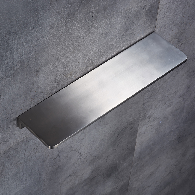 2018 Newly Solid Space Aluminum Blacked Bathroom Shelves Bathroom Dressing table Shelf Shower Caddy Rack Bathroom Accessories