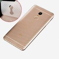 5 Pz/lotto 3D In Fibra di Carbonio Posteriore Pellicola Per Xiaomi Redmi Nota 4 4X 5A Della Protezione Dello Schermo Anti-Graffio Per redmi 5 più 4A Pro S2 Pellicola