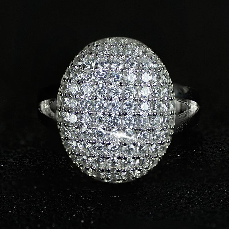 2018 New Arrival 925 Sterling Silver Rings Two Gifts 88 Cz