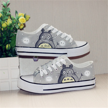 Trendy Totoro Canvas Shoes