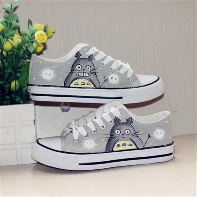 Trendy Totoro Canvas Shoes