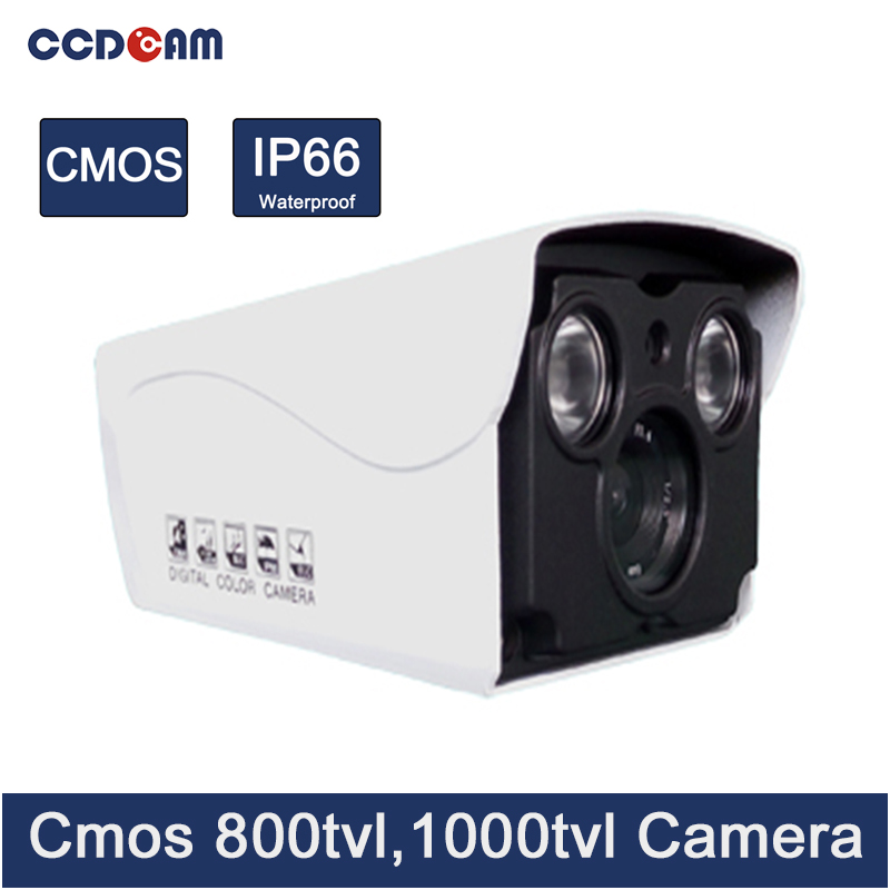 CCDCAM CCTV Camera CMOS 800/ 1000 tvl waterproof analog ir analog camera china цены онлайн