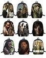 The Walking Dead/zombies Backpack For Teenagers Girls Boys School Bags Men Women Daily Bag Children School Shoulder bag