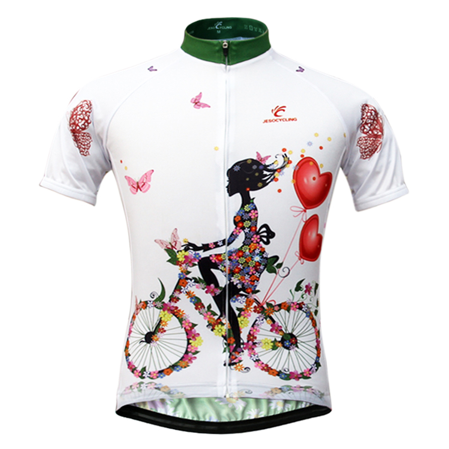 Dame Cykling Jersey Hot Selling MTB Bike Jersey Maillot Ciclismo Kortærmet Breathable Cykeltøj Cykling Skjorter