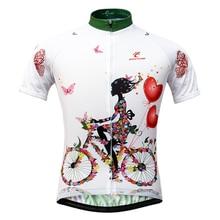 Для женщин Велоспорт трикотаж Лидер продаж горный велосипед трикотаж Майо ciclismo короткий рукав дышащая Велосипедная форма Велоспорт рубашки