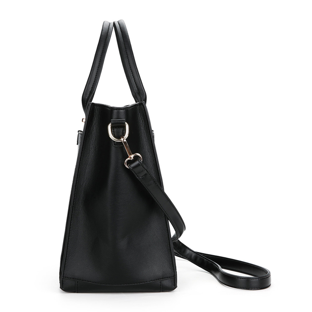 Brand Women Alligator Leather Handbags Design Shoulder Bags Daily Casual Tote Bags Street Style Black Hand Bag Bolsas Feminina