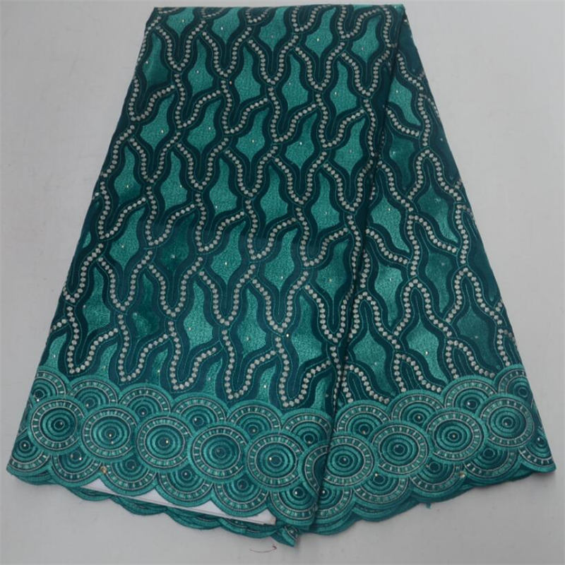 High Quality african Swiss Voile Lace 2018 African Polish Swiss Cotton Voile fabric Aqua green cotton lace fabricHigh Quality african Swiss Voile Lace 2018 African Polish Swiss Cotton Voile fabric Aqua green cotton lace fabric