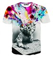 Vendas Hot NEW 2016 homens de moda 3d t shirt do verão de secagem rápida nave espacial/carro/avião de combate de impressão 3D camisetas S-6XL