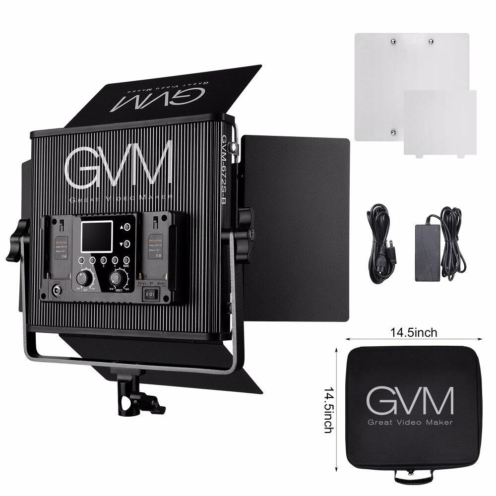 Gvm Photo Studio Led Ring Light: GVM Professional LED Studio Continuous Light Dimmable