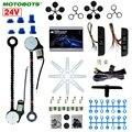 MOTOBOTS Universal 24 V Auto/Lkw 2-Doors Electric Power Fenster Kits 3 teile/satz Mond Schalter und Harness # CA4421