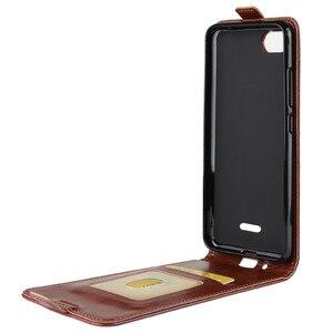 Image 2 - Redmi 6A يصل أسفل عمودي محفظة قلابة حافظة بطاقات جلدية حالة ل Xiaomi Redmi 6A كامل واقية الهاتف غطاء حالة