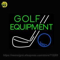 Neon Sign For Golf Equipment Display Handmade Neon Sign Lights Store Advertise Neon Bulb Sign Custom