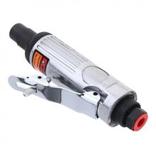 TORO 1/4 25000RPM Straight Shank Collet Pneumatic Grinding Machine Air Die Grinder with Small Hex Wrench for Grinding/Polishing toro tr 4152 1 4 25000rpm extended shaft straight shank pneumatic grinding machine air die grinder for grinding engraving