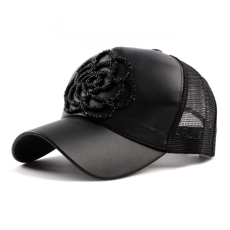 baseball caps wholesale australia for big heads small dogs new spring summer font women high quality handmade rose