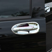 Chrome Car Styling 2014-2018 Door Handle Cover and Bowl Insert Trim Plate For Mercedes Benz Vito V Class V260 W447 Accessories accessories door handle cover and bowl insert trim with smart hole chrome for mercedes benz vito w447 v260l v260 2014 2018