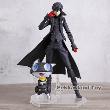 Persona 5 Shujinkou and Morgana Joker Figma 363 Moveable Action Figure Collection Model Doll Toy 1