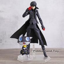 Persona 5 Shujinkou และ Morgana JOKER FIGMA 363 เคลื่อนย้ายได้ Action FIGURE Collection ตุ๊กตาตุ๊กตาของเล่น