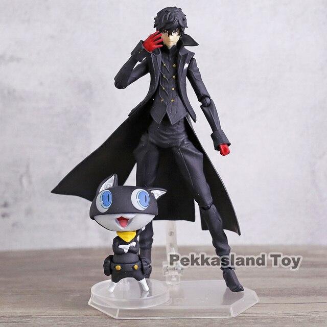 Persona 5 Shujinkou and Morgana Joker Figma 363 Moveable Action Figure Collection Model Doll Toy