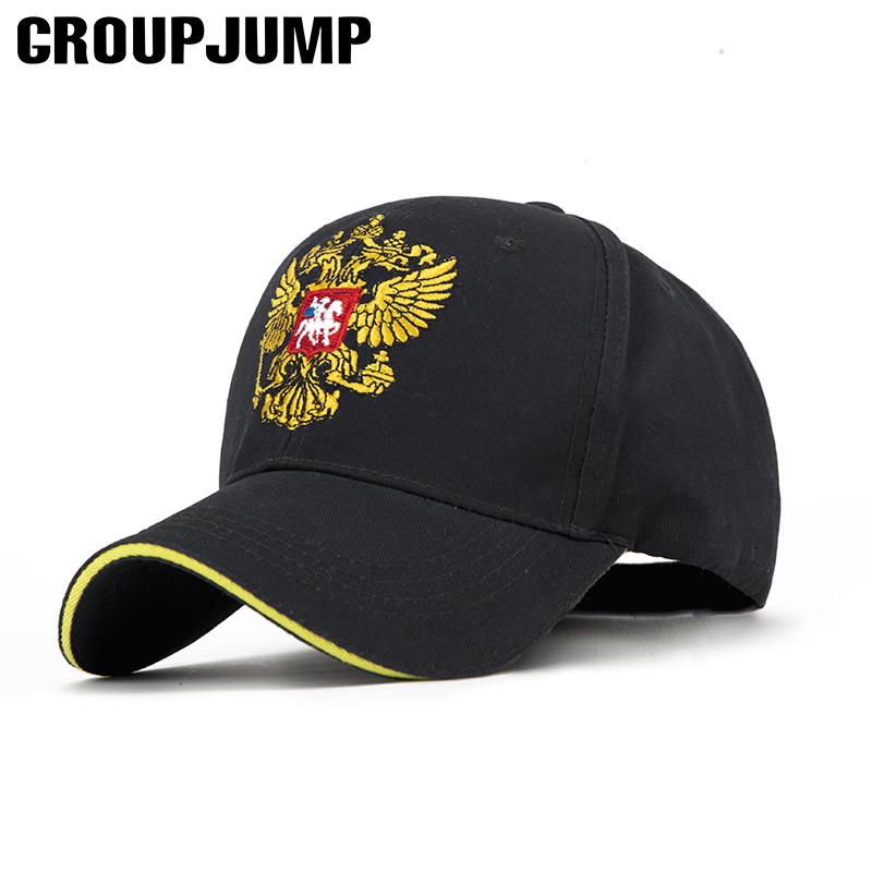 GROUP JUMP Baseball Cap Men Spring Hat Women Bone Unisex Snapback Cap Adjustable Caps Russian Emblem Cap Female Male Hats