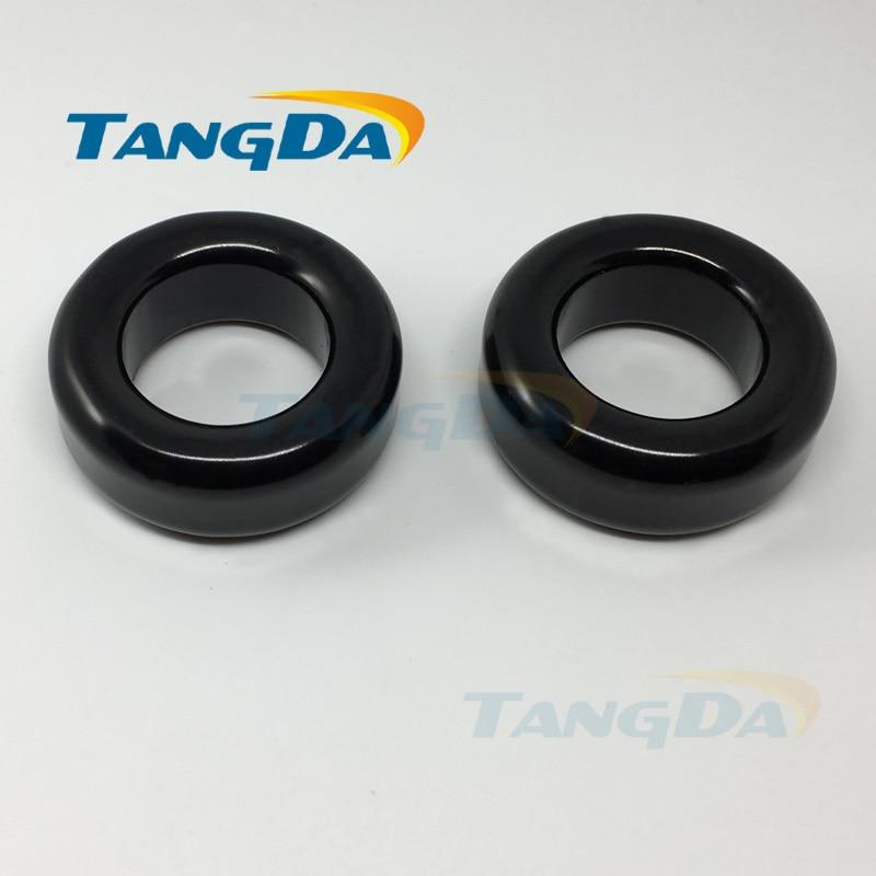 Tangda sendust FeSiAl toroidal cores inductor OD*ID*HT 40*23*15 mm AL: 81nH/N2 Ue:60 AS157060A CS400060 77083-A7 A. 23 nh