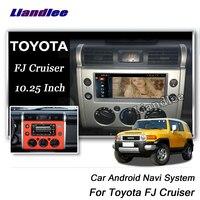 Liandlee 12,25 Android для Toyota FJ Cruiser GSJ15W 2007 ~ 2018 Радио Стерео Carplay камера gps BT навигационная карта навигация Мультимедиа