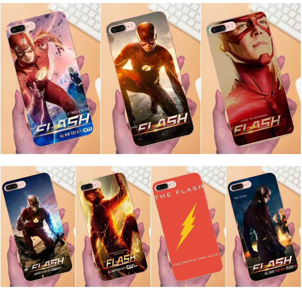 DC Hot TV Toont De Flash Barry Allen TPU Coque Voor Galaxy A3 A5 A7 On5 On7 2015 2016 2017 grand Alpha G850 Core2 Prime S2 I9082