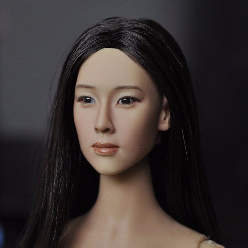 ФОТО Popular 1/6 Scale Female Head Sculpt For 12