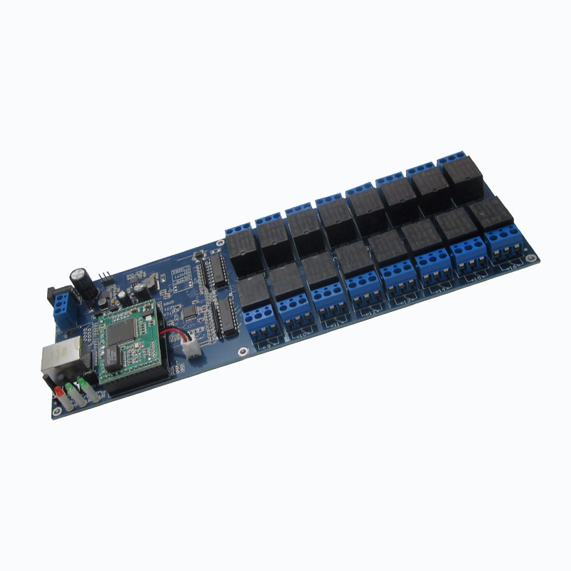 16-channel network relay Industrial 12V relay remote control panel modbus relay module relay shield v1 0 5v 4 channel relay module for arduino works with official arduino boards