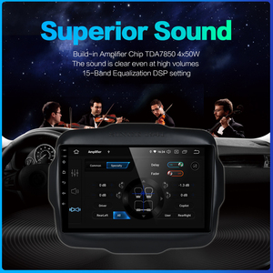 """Image 5 - Dasaita 9"""" Android 9.0 Multi Touch Screen Car Radio for Jeep Renegade GPS 2016 2017 HDMI 2.5D IPS Touch Screen TDA7850 Bluetooth"""