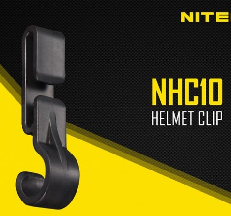 4pc best price Nitecore NHC10 pack helmet clip to mount a lighthouse in FINA edged helmet in Portable Lighting Accessories from Lights Lighting