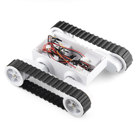5 Chassis Intelligent Model Racing Track Tanks A Guest Programmable Bi Platform Robot Driver Board