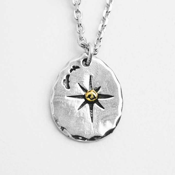 Solid Silver 925 Eagle & Sun Tag Pendant For Necklace Men Women Vintage Indian Style Antique 925 Sterling Silver Jewelry Bijoux punk style etched gold plated eagle moon pendant necklace for men