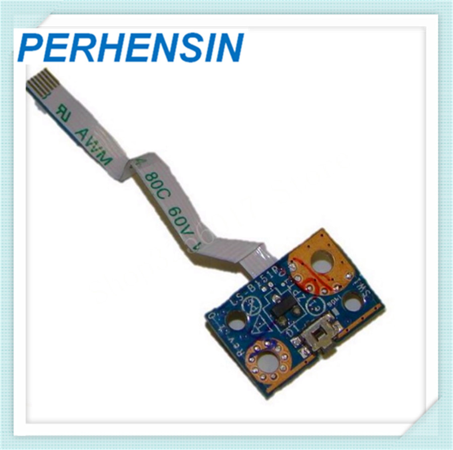 FOR HP FOR Pavilion 11 X360 11-n011dx Power Button Board Pn Ls-b151p 755733-001 new hot replacement power button board with ribbon for hp pavilion 15 n series