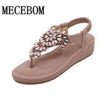 2016 New Summer Flat Sandals Women Bohemian Shoes hot! Platform Sandals size 35-40